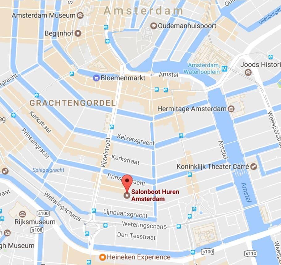 Salonbootje Amsterdam